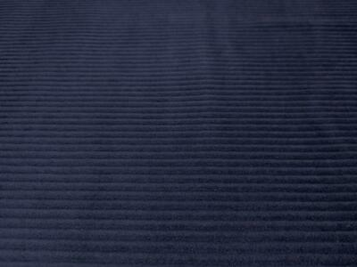 £4.99 • Buy WASHED Jumbo Cord 4.5 Wale Cotton Velvet Fabric Material NAVY