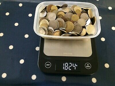 Nice Old Job Lot Mainly Foreign Coins Approx 1.8Kg • 8£