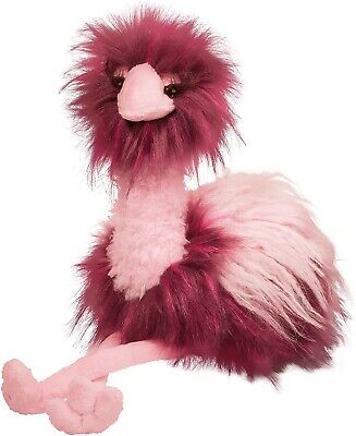 $24.95 • Buy Douglas Cuddle Toys Tatiana Pink Ostrich Fuzzle #3710 Stuffed Animal Toy