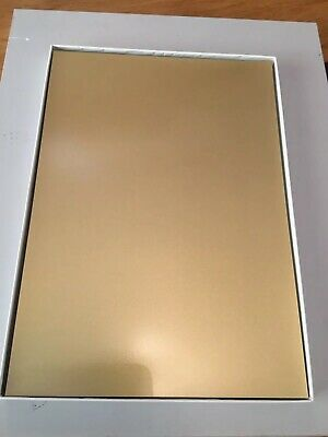 Self Adhesieve A4 Inkjet Gold Foil 50 Sheets • 4£