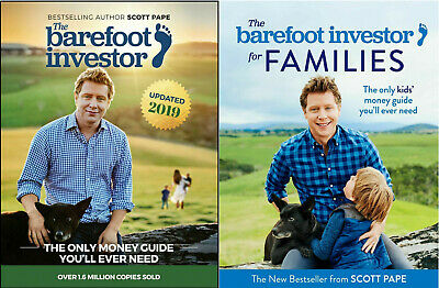 AU6.50 • Buy The Barefoot Investor + Barefoot Investor For Families By Scott Pape (PDF+EPUB)