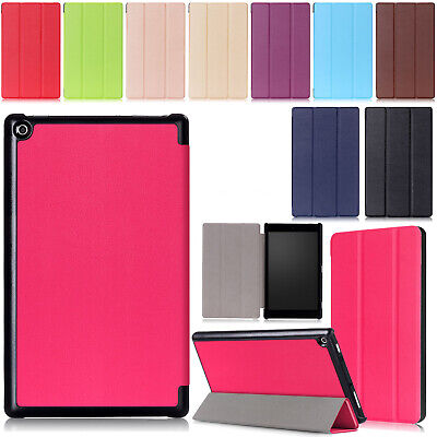 Case For Amazon Kindle Fire HD 8 7th 2017 8th 2018 Slim Fold Leather Stand Cover • 6.49£