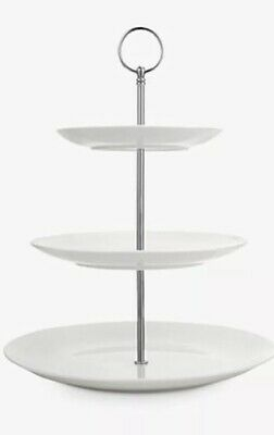 Croft Luna 3 Tier Cake Stand Boxed Msrp £39.99 • 24.99£