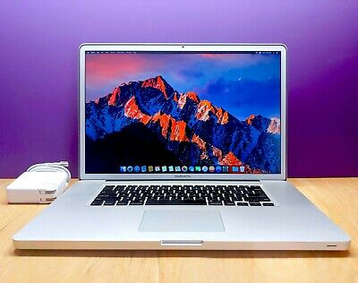 $699 • Buy ULTRA APPLE MACBOOK PRO 17 INCH / CORE I5 2.53GHZ / OS2018 / HUGE 1TB / 8GB