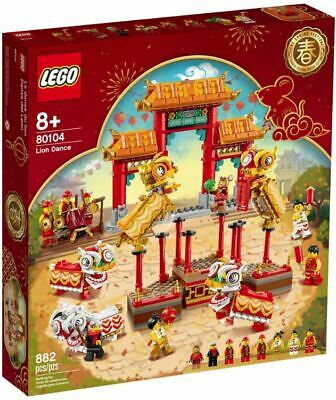 $124.99 • Buy LEGO Chinese New Years: Lion Dance [80104, 882 Pieces, Ages 8+, 8 Minifigs] NEW