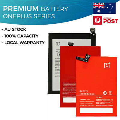 AU21.99 • Buy New Battery For Oneplus 1+ 1 2 3 3T 5 5T 6 6T 7 Pro 7T X 100% Capacity One Plus