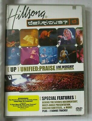 $44.99 • Buy Hillsong Delirious? Up Unified Praise Live Worship Sidney Australia Dvd -  New