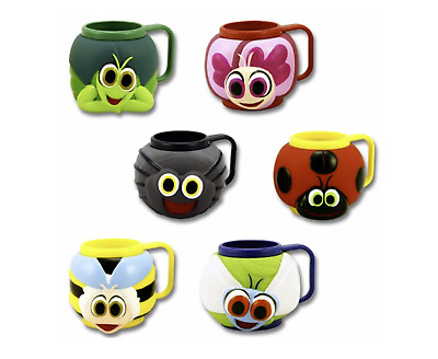 Children's Kids Novelty Plastic Mugs For Drinks, Ice Cream, Party Bags, Gifts. • 5.95£