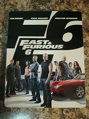 $ CDN12.99 • Buy Fast And Furious 6 (Blu-ray DVD Disc, 2013) Steelbook Edition