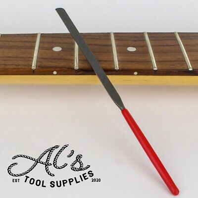 £9.99 • Buy Fret End Dressing Finishing File Guitar Tool Luthier StewMac Crimson Style