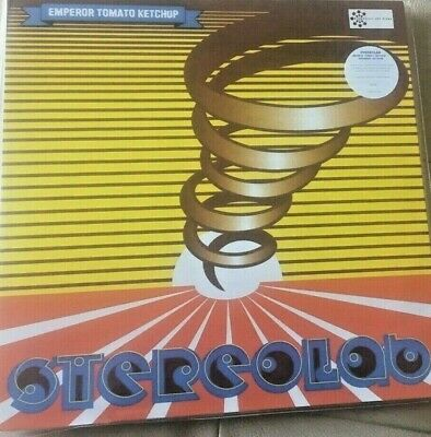 STEREOLAB - Emperor Tomato Ketchup - Limited Edition CLEAR Vinyl 3LP -  NEW/MINT • 52.99£