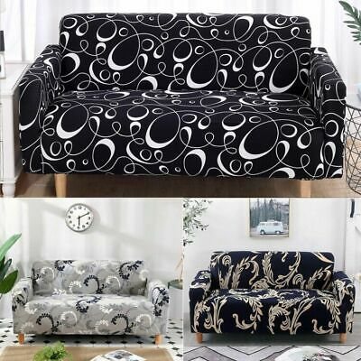 AU39 • Buy 1 2 3 Seaters Stretch Sofa Couch Cover Lounge Recliner Chair Slipcover Protector