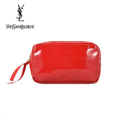 AU16.99 • Buy YSL Red Makeup Cosmetics Bag, Small Size, Brand NEW!