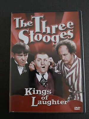 The Three Stooges Kings Of Laughter Region 2 DVD New & Sealed • 0.99£