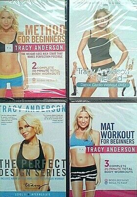 TRACY ANDERSON Method For Beginners / Cardio Dance Exercise Fitness DVD - NEW • 2.95£