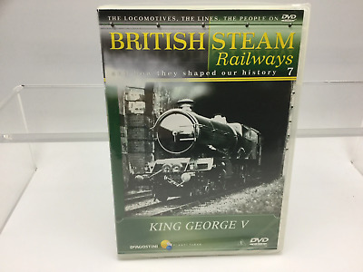 British Steam Railways DVD No 7 King George V • 4.99£