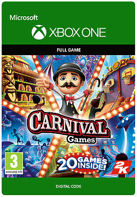 Carnival Games Xbox One Full Game Key • 15.99£