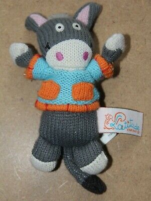 Latitude Enfant - Small Knitted Cow - VGC • 2.50£
