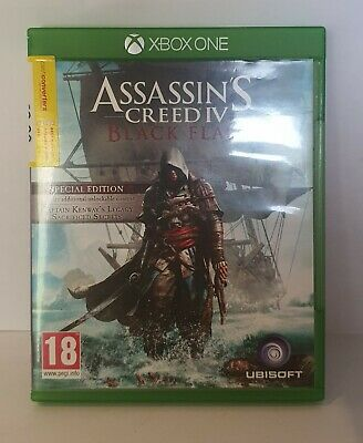 Assassins Creed IV: Black Flag Special Edition Xbox One • 12.99£