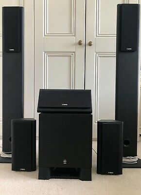 AU295 • Buy  Yamaha NS-PA120 5.1CH Surround Speakers With YST-SW030B Subwoofer