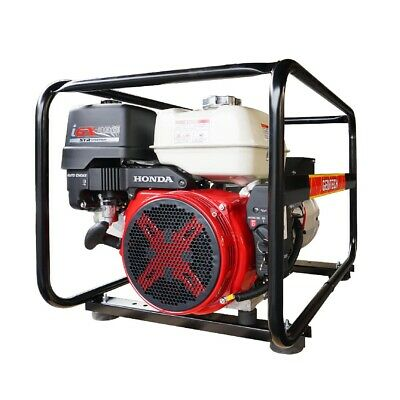 AU3579 • Buy Honda Generator Gentech 8kVA With AVR GX390 Electric Start Work Site Approved