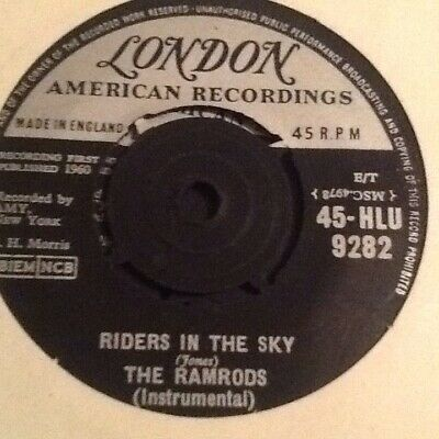 1960 S7 Vinyl.Riders In The Sky.Ramrods.VG+ • 3£