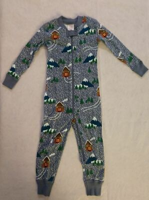 $21.99 • Buy NWT Hanna Andersson Snowy Cottage Christmas Sleeper Pajamas 1PC Baby Toddler