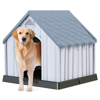 $137.75 • Buy Dog House Indoor & Outdoor Small Medium Large Cat Room Pet Kennel W/ Roof