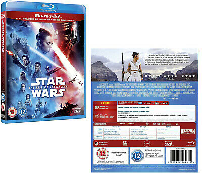 AU52.50 • Buy STAR WARS 9 (2019) - Episode IX: THE RISE OF SKYWALKER - NEW RgFree 3D + BLU-RAY