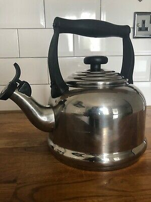Le Crueset Stainless Stove Top Kettle - Induction Compatible • 21£