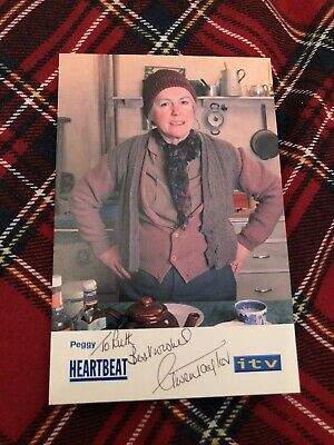 Gwen Taylor (heartbeat) Signed Cast Card • 8.50£