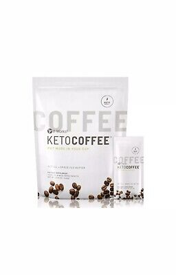 $32 • Buy It Works! Keto Coffee BRAND NEW & Sealed Bag Incl.15 Packets Carb Management