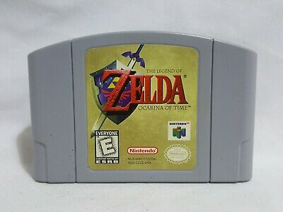 $47.95 • Buy The Legend Of Zelda Ocarina Of Time Nintendo 64 Game N64 AUTHENTIC - Works Great