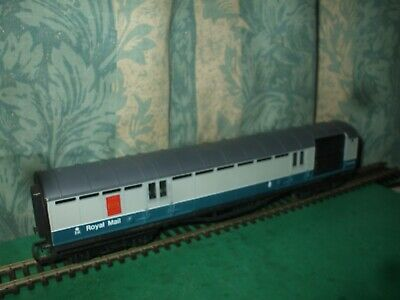 HORNBY EX LMS BLUE/GREY TPO OPERATING ROYAL MAIL COACH M80328 - UNBOXED - No.3 • 27.95£