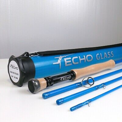 $ CDN350.66 • Buy Echo Bad Ass Glass Fly Rod 8 FT 9 WT - FREE FLY LINE - FREE FAST SHIPPING