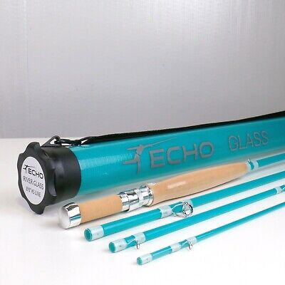 $ CDN335.61 • Buy Echo River Glass Fly Rod 8 FT 6 IN  5 WT - FREE FLY LINE - FREE FAST SHIPPING