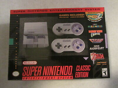 $ CDN232.69 • Buy Official SNES Classic Mini Edition (Super Nintendo NES Classic System) BRAND NEW