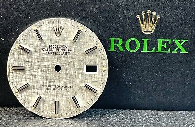 $ CDN241.97 • Buy Rolex Datejust Mens 36mm Silver Stick Dial Jubilee Stainless Oyster Model 16014