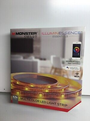 $6 • Buy Monster Smart Multicolor Led Light Strip(work With Google Home And WiFi)