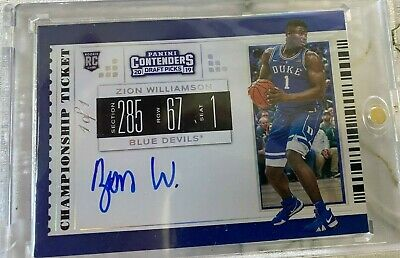 $2000 • Buy 2019-20 Contenders  Zion Williamson   Very Rare RC #151(1/1)