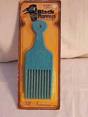 $17.99 • Buy Vintage Natural Afro Nylon Unbreakable Pocket Pick Comb   (Brand New)