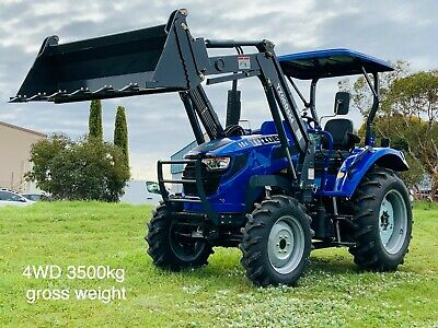 AU25990 • Buy Trident 55hp Tractor 4wd With Fel 4in1 Bucket