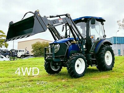 AU31990 • Buy Trident 65hp Tractor 4wd With Fel 4in1 Bucket