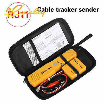 Cable Tracker Wire Tracer Telephone Line Tester Continuity Single Dual Tone Test • 11.81£
