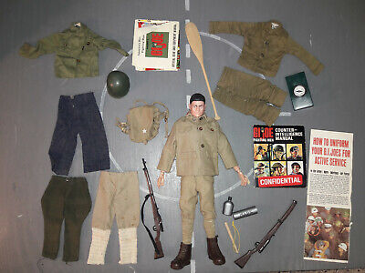 $ CDN360.02 • Buy 1964 - 1966 GI Joe Japanese Soldier Of The World With Gear Manual Lot 25