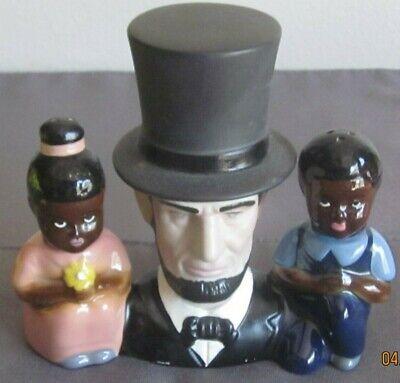 $61.51 • Buy Vintage Pottery Madison Ceramic Arts Studio Abe Lincoln Salt And Pepper Shakers
