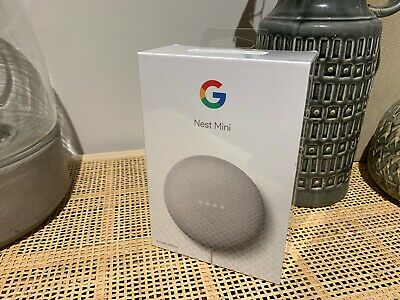 AU29.99 • Buy Google Nest Mini (2nd Generation) Smart Speaker - Chalk - Brand New Sealed