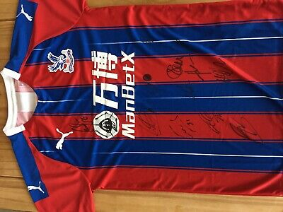Crystal Palace Signed Shirt With Certificate Of Authenticity - Season 2019/2020 • 100£