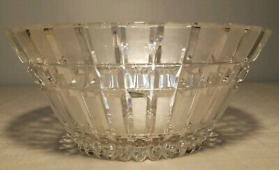 $44.99 • Buy Gorgeous Shannon 24% Lead Crystal Designs Of Ireland Large Heavy Fruit Bowl
