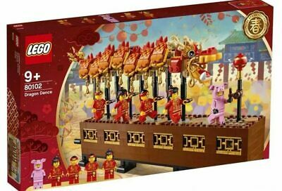 $179.95 • Buy LEGO-80102-Holiday-Chinese New Year Dragon Dance-2019 Asia Exclusive-NISB!